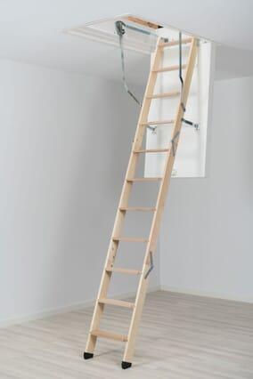 Dolle ClickFix 76 Timber Folding Loft Ladder (1150 x 550mm)