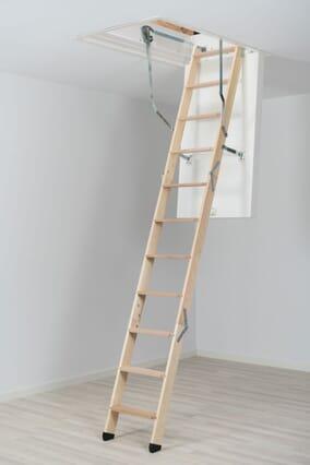 Dolle ClickFix 76 Timber Folding Loft Ladder (1200 x 700mm)