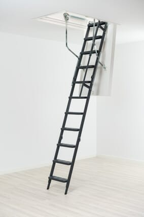 ClickFix Thermo Comfort Steel Folding Loft Ladder