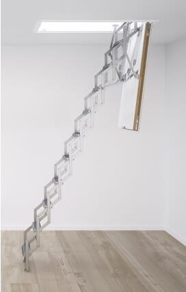 Columbus Ecco Mini Aluminium Concertina Loft Ladder