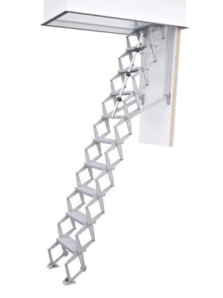 Columbus Exclusive Aluminium Concertina Loft Ladder