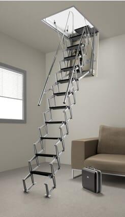 Fantozzi Electric Loft Ladder - Grey option