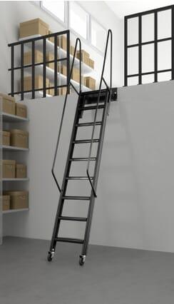 Gallery Stairway - Black option