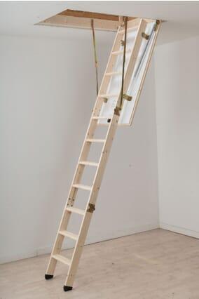 Dolle Hobby Timber Folding Loft Ladder (1150 x 570mm)