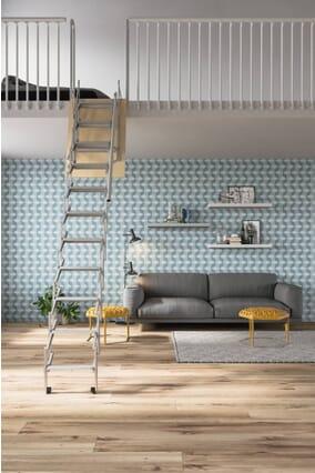 Palco Mezzanine Access Concertina Loft Ladder