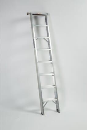 Ramsay Straight Flight Aluminium Shelf Ladder